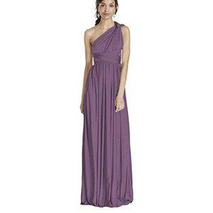 David's Bridal Versa Convertible Long Jersey Dress